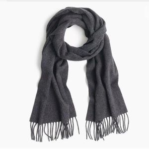 New with tags JCrew 100% cashmere unisex scarf